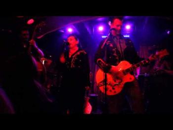Chilli and Mr. Curtis live beim Pulp Fiction Ballroom im Cabaret Fledermaus am 30.Mai 2015